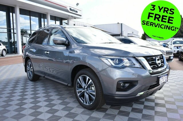 Demo Nissan Pathfinder  Ti X-tronic 2WD, 2018 Nissan Pathfinder R52 SERIES II M Ti X-tronic 2WD Gun Metallic 1 Speed Constant Variable Wagon