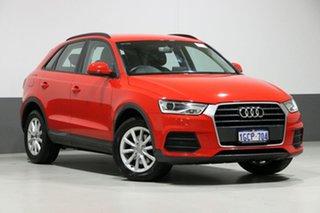 2016 Audi Q3 8U MY15 1.4 TFSI (110kW) Red 6 Speed Automatic Wagon.