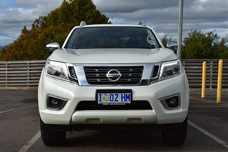 2018 Nissan Navara D23 S3 ST-X White Diamond 6 Speed Manual Utility.