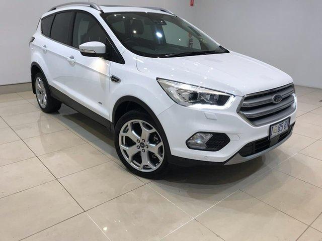 Used Ford Escape ZG 2018.75MY Titanium AWD, 2018 Ford Escape ZG 2018.75MY Titanium AWD White 6 Speed Sports Automatic Wagon