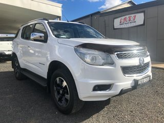 2016 Holden Colorado 7 RG MY16 Trailblazer (4x4) Summit White 6 Speed Automatic Wagon.