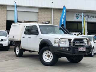 2007 Ford Ranger PJ XL Crew Cab White 5 Speed Manual Utility.