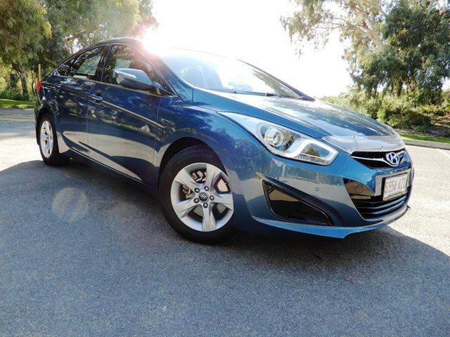 Used Hyundai i40 VF2 Active, 2013 Hyundai i40 VF2 Active Blue 6 Speed Sports Automatic Sedan