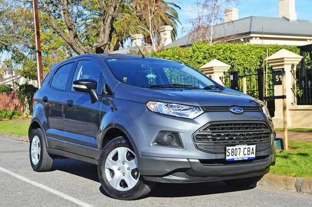 Used Ford Ecosport BK Ambiente PwrShift, 2016 Ford Ecosport BK Ambiente PwrShift Metalliv Grey/cloth 6 Speed Sports Automatic Dual Clutch
