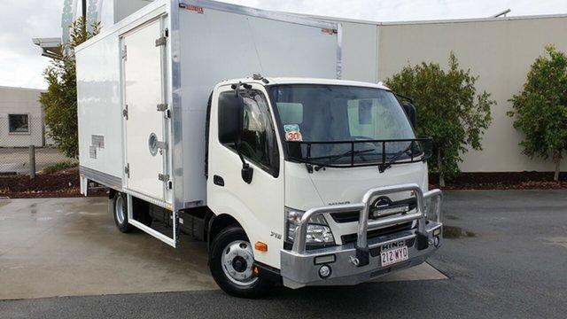 Used Hino 300  716, 2017 Hino 300 300 716 White Pantech 4.0l RWD