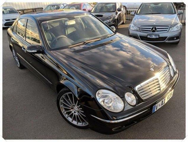 Used Mercedes-Benz E280 W211 Elegance, 2005 Mercedes-Benz E280 W211 Elegance Black Sports Automatic Sedan