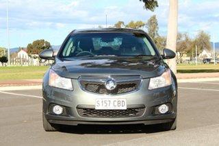 2013 Holden Cruze JH Series II MY13 Equipe Prussian Steel 6 Speed Sports Automatic Sedan.