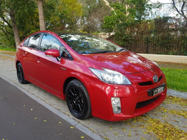 Used Toyota Prius ZVW30R I-Tech, 2010 Toyota Prius ZVW30R I-Tech Red 1 Speed Constant Variable Liftback Hybrid