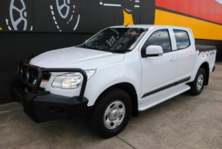 2015 Holden Colorado RG MY15 LS Crew Cab Summit White 6 Speed Sports Automatic Utility