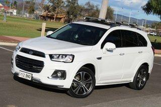 2016 Holden Captiva CG MY17 LTZ AWD White 6 Speed Sports Automatic Wagon.