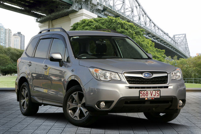 Used Subaru Forester S4 MY14 2.5i Lineartronic AWD, 2014 Subaru Forester S4 MY14 2.5i Lineartronic AWD Silver 6 Speed Constant Variable Wagon