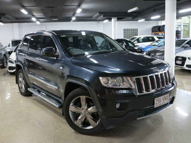 Used Jeep Grand Cherokee WK MY2012 Limited, 2012 Jeep Grand Cherokee WK MY2012 Limited Black 5 Speed Sports Automatic Wagon