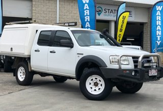 2007 Ford Ranger PJ XL Crew Cab White 5 Speed Manual Utility