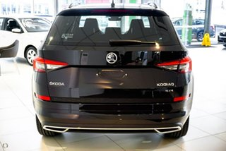 2019 Skoda Kodiaq NS MY19 132TSI DSG Sportline Black 7 Speed Sports Automatic Dual Clutch Wagon.