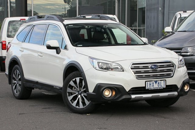 Used Subaru Outback B6A MY15 2.0D CVT AWD Premium, 2015 Subaru Outback B6A MY15 2.0D CVT AWD Premium White 7 Speed Constant Variable Wagon