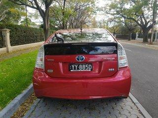 2010 Toyota Prius ZVW30R I-Tech Red 1 Speed Constant Variable Liftback Hybrid