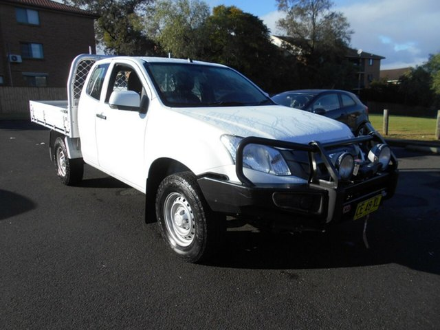 Used Isuzu D-MAX TF MY15 SX (4x4), 2015 Isuzu D-MAX TF MY15 SX (4x4) White 5 Speed Automatic Space Cab Chassis