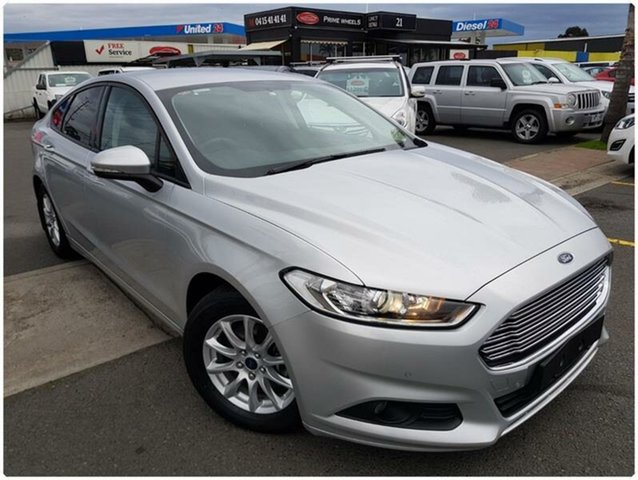 Used Ford Mondeo MD Ambiente, 2015 Ford Mondeo MD Ambiente Silver Sports Automatic Dual Clutch Hatchback