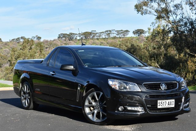 Used Holden Ute VF MY14 SS V Ute, 2013 Holden Ute VF MY14 SS V Ute Black 6 Speed Sports Automatic Utility