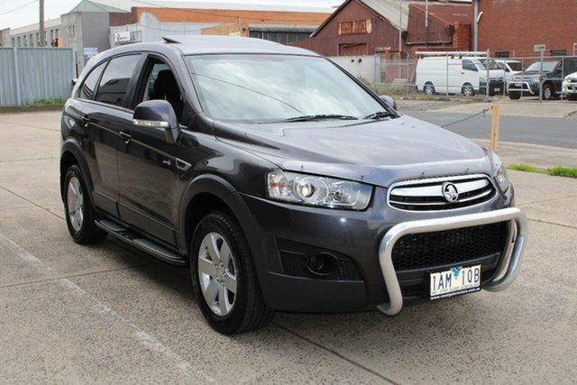 Used Holden Captiva CG MY13 7 SX (FWD) West Footscray, 2013 Holden Captiva CG MY13 7 SX (FWD) Grey 6 Speed Automatic Wagon