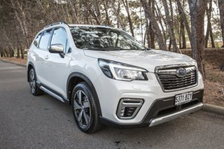 2019 Subaru Forester S5 MY19 2.5i-S CVT AWD Crystal White Pearl 7 Speed Constant Variable Wagon.