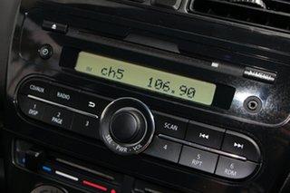 2014 Mitsubishi Mirage LA MY15 ES White 1 Speed Constant Variable Hatchback