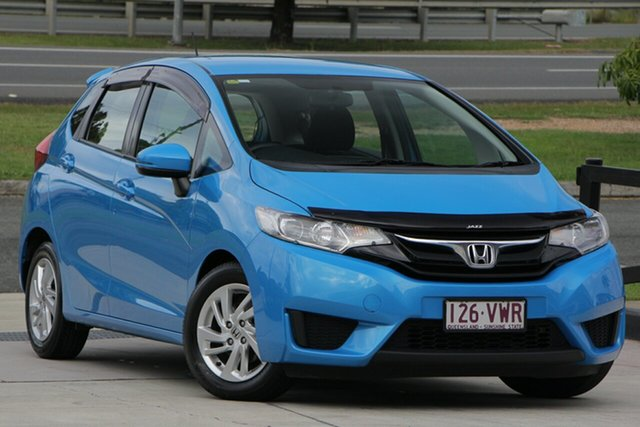 Used Honda Jazz GF MY15 Limited Edition, 2015 Honda Jazz GF MY15 Limited Edition Blue 1 Speed Constant Variable Hatchback