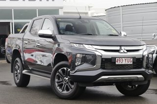 2018 Mitsubishi Triton MR MY19 GLS Double Cab Grey 6 Speed Sports Automatic Utility.