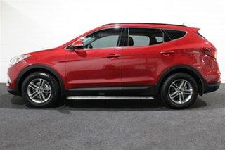 2016 Hyundai Santa Fe DM3 MY17 Active Red Merlot 6 Speed Sports Automatic Wagon