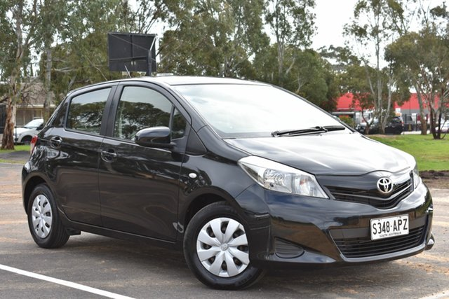 Used Toyota Yaris NCP130R YR, 2012 Toyota Yaris NCP130R YR Black 4 Speed Automatic Hatchback