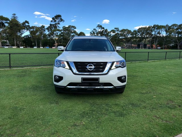 Demo Nissan Pathfinder R52 Series III MY19 ST-L X-tronic 4WD, 2018 Nissan Pathfinder R52 Series III MY19 ST-L X-tronic 4WD Ivory Pearl 1 Speed Constant Variable