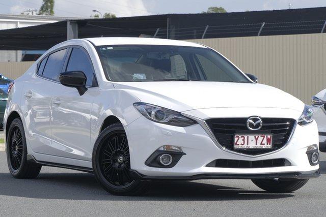 Used Mazda 3 BM5238 SP25 SKYACTIV-Drive GT, 2016 Mazda 3 BM5238 SP25 SKYACTIV-Drive GT Snowflake White 6 Speed Sports Automatic Sedan