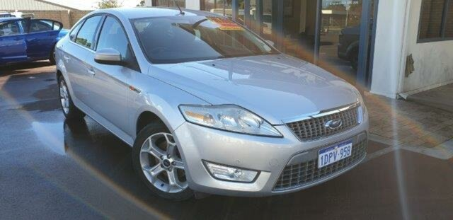 Used Ford Mondeo MB MY11 LX PwrShift TDCi East Bunbury, 2010 Ford Mondeo MB MY11 LX PwrShift TDCi Silver 6 Speed Auto Hatchback