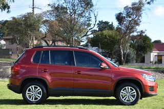 2014 Volkswagen Tiguan 5N MY14 118TSI DSG 2WD Red 6 Speed Sports Automatic Dual Clutch Wagon.