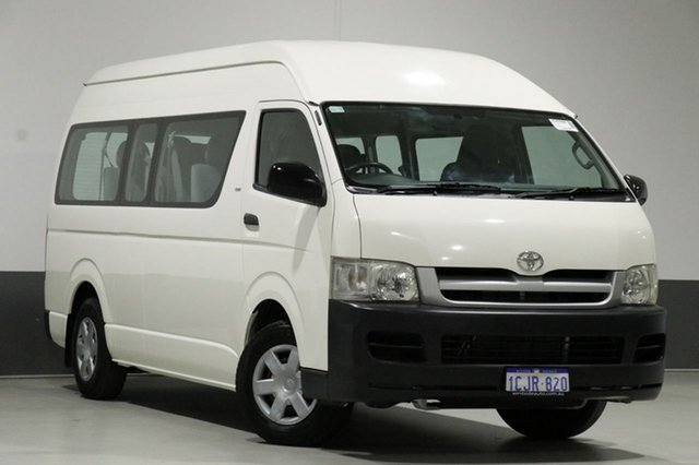 Used Toyota HiAce TRH223R Commuter, 2006 Toyota HiAce TRH223R Commuter White 4 Speed Automatic Bus