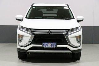 2018 Mitsubishi Eclipse Cross YA MY18 LS (2WD) White Solid Continuous Variable Wagon.