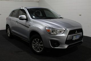 2013 Mitsubishi ASX XB MY13 Silver 6 Speed Sports Automatic Wagon.