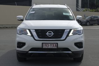 2018 Nissan Pathfinder R52 Series III MY19 ST X-tronic 2WD Ivory Pearl 1 Speed Constant Variable