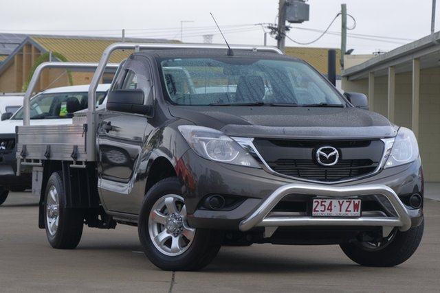 Used Mazda BT-50 UR0YD1 XT 4x2, 2016 Mazda BT-50 UR0YD1 XT 4x2 Titanium Flash 6 Speed Manual Cab Chassis