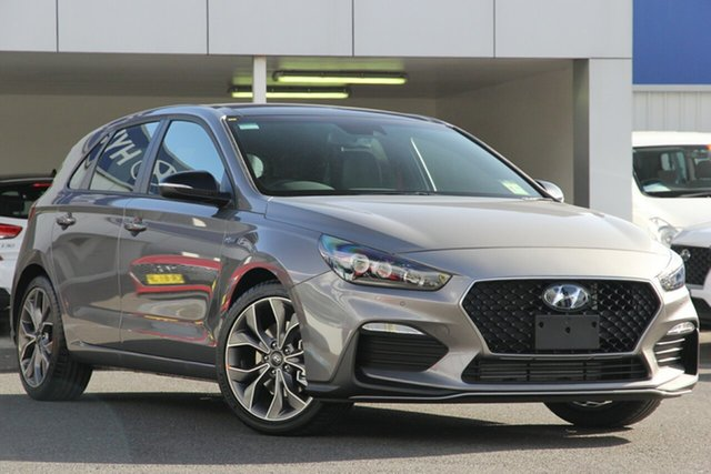 New Hyundai i30 PD.3 MY19 N Line D-CT Premium, 2019 Hyundai i30 PD.3 MY19 N Line D-CT Premium Fluidic Metal 7 Speed Sports Automatic Dual Clutch