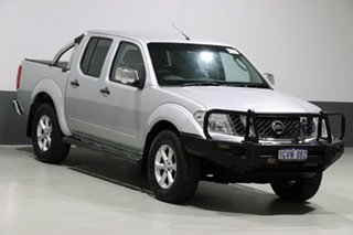 2014 Nissan Navara D40 MY12 ST-X (4x4) Silver 7 Speed Automatic Dual Cab Pick-up