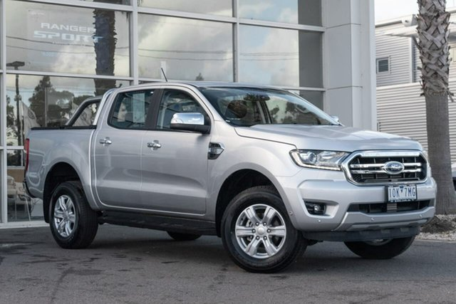 Used Ford Ranger PX MkIII 2019.00MY XLT Pick-up Double Cab 4x2 Hi-Rider, 2019 Ford Ranger PX MkIII 2019.00MY XLT Pick-up Double Cab 4x2 Hi-Rider Silver 6 Speed