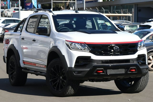 New Holden Special Vehicles Colorado RG MY19 SportsCat Pickup Crew Cab RS, 2019 Holden Special Vehicles Colorado RG MY19 SportsCat Pickup Crew Cab RS Summit White 6 Speed