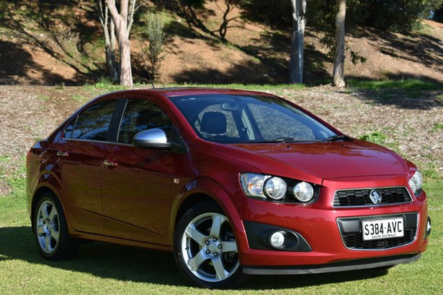 Used Holden Barina TM MY13 CDX, 2012 Holden Barina TM MY13 CDX Red 6 Speed Automatic Sedan