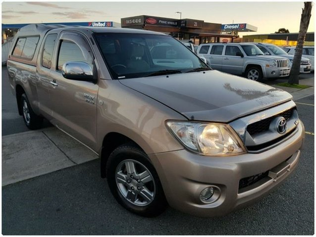 Used Toyota Hilux GGN15R SR5, 2009 Toyota Hilux GGN15R SR5 Brown Automatic Utility