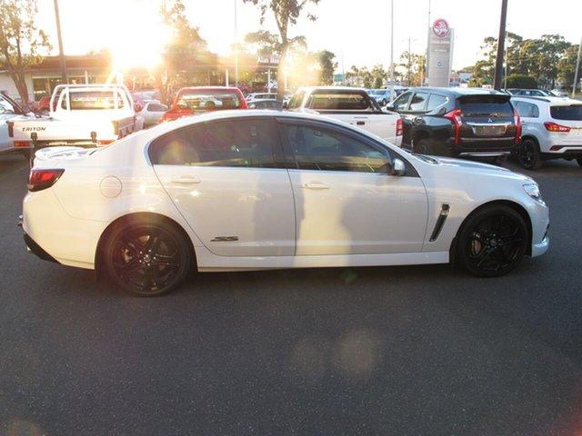 Used Holden Commodore VF MY15 SS V, 2015 Holden Commodore VF MY15 SS V White Semi Auto Sedan