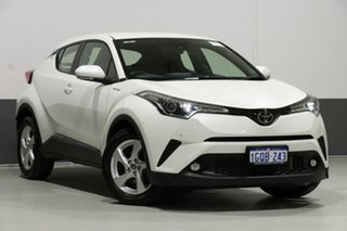 2018 Toyota C-HR NGX10R Update (2WD) Crystal Pearl Continuous Variable Wagon.