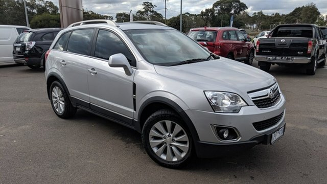 Used Holden Captiva CG MY15 5 AWD LT, 2015 Holden Captiva CG MY15 5 AWD LT Silver 6 Speed Sports Automatic Wagon