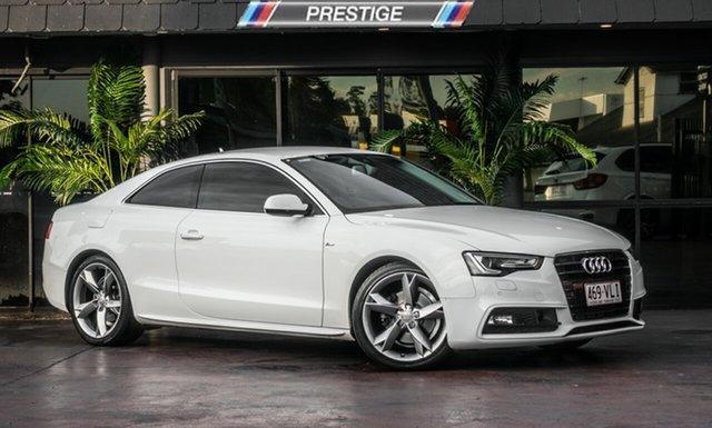 Used Audi A5 8T MY15 1.8 TFSI, 2014 Audi A5 8T MY15 1.8 TFSI White CVT Multitronic Coupe