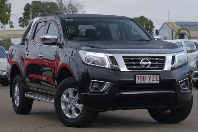 Used Nissan Navara D23 S3 ST, 2018 Nissan Navara D23 S3 ST Black 7 Speed Sports Automatic Utility